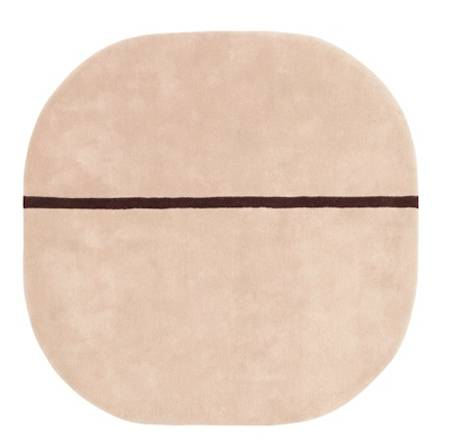 Normann Copenhagen Matto rosa 140x140cm