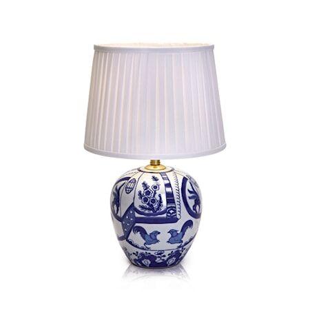 Markslöjd Göteborg Pöytälamppu Sininen 30,5 cm
