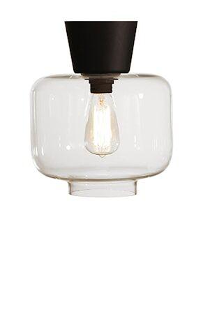 Globen Lighting Kattovalaisin Ritz Selkeä / Musta