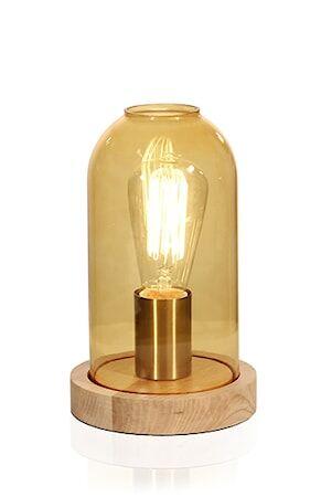 Globen Lighting Pöytävalaisin Newton Amber
