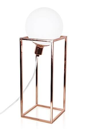 Globen Lighting Pöytävalaisin Cube XL Kuparia