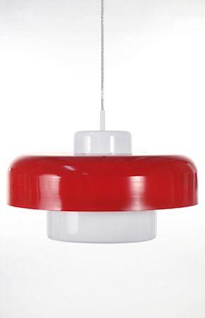 Globen Lighting Kattovalaisin Bullen punainen