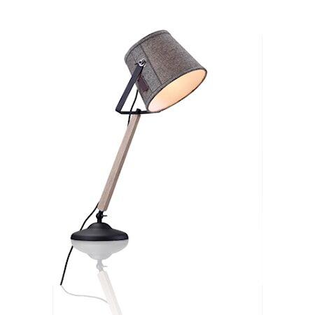 Markslöjd Legen Pöytälamppu Harmaa/Musta