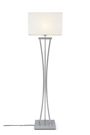 Cottex Chelsea Floor Lamp Chrome