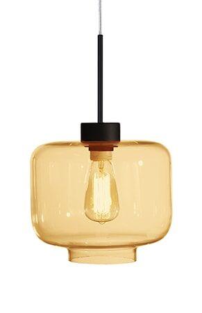 Globen Lighting Kattovalaisin Ritz Amber