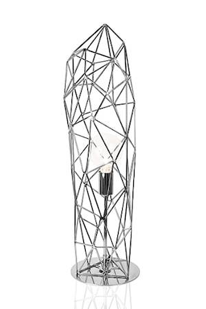 Globen Lighting Pöytävalaisin Diamond Statue Kromi