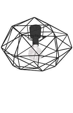 Globen Lighting Diamond Plafondi Musta