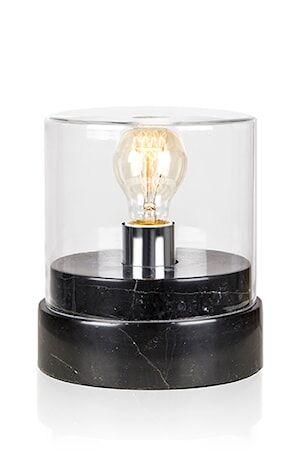 Globen Lighting Pöytävalaisin Marmi Wide Musta