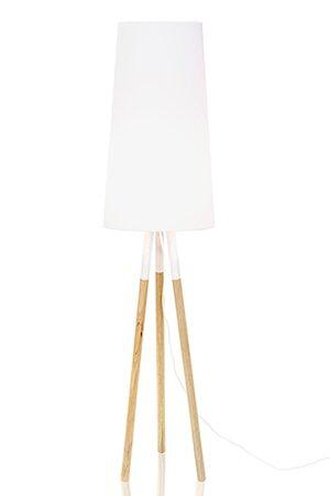 Globen Lighting Lattiavalaisin Oslo Valkoinen