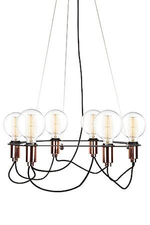Globen Lighting Kattovalaisin Cables Musta