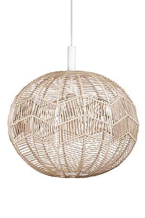 Globen Lighting Kattolamppu Missy Nature / Valkoinen