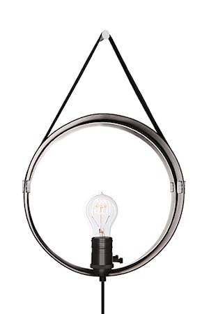 Globen Lighting Seinälamppu Hangover Musta / Kromi