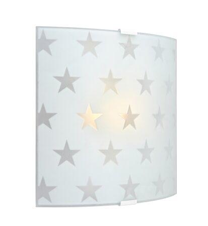 Markslöjd Star LED Seinälamppu Huurre