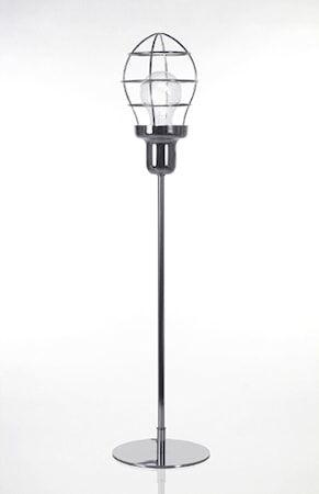 Globen Lighting Pöytävalaisin Cage Kromi