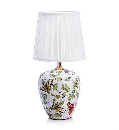 Markslöjd Mansion Pöytälamppu 1L Pieni Kuvioitu/valkoinen