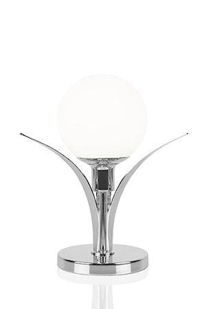 Globen Lighting Pöytävalaisin Savoy Kromi