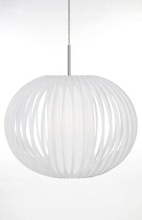 Globen Lighting Kattolamppu Muovi XL Valkoinen / Kromi