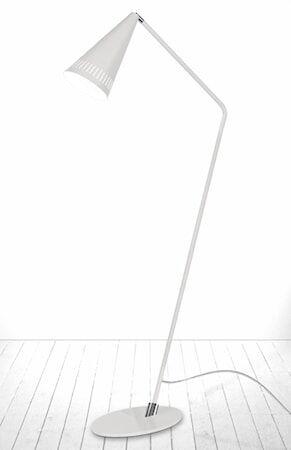 Globen Lighting Lattiavalaisin Pipe Valkoinen