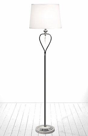 Globen Lighting Lattiavalaisin Crystal Kromi