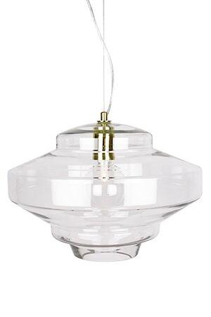 Globen Lighting Kattovalaisin Duomo Selkeä / messinki