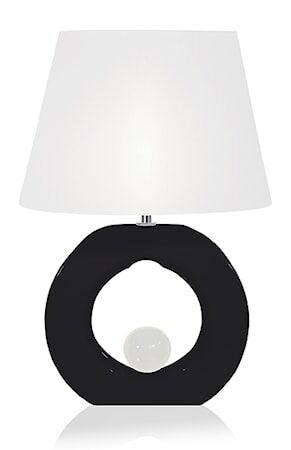 Globen Lighting Pöytävalaisin Circle Musta