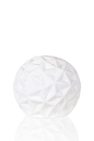 Globen Lighting Pöytävalaisin Fasette Valkoinen