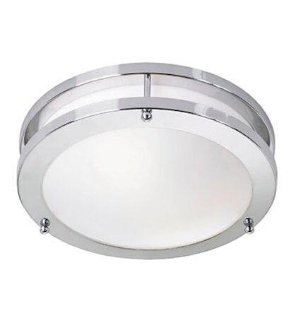 Markslöjd Täby LED Plafondi Kromi/Valkoinen