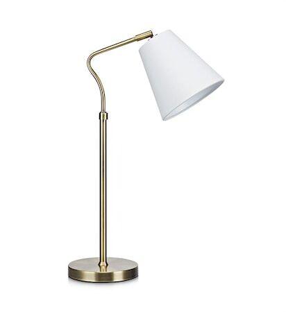 Markslöjd Tindra Pöytälamppu 1L Antiikki/Valkoinen