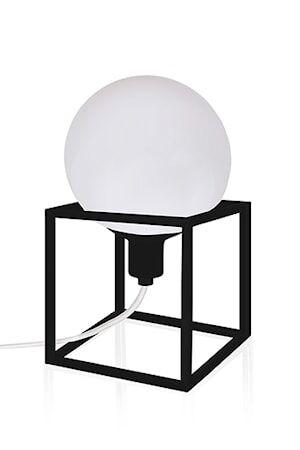 Globen Lighting Pöytävalaisin Cube Musta
