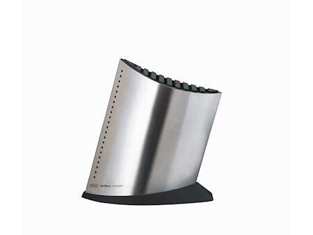 Global Veitsiblokki 9 veistä + teroitin, 27 cm