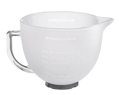 KitchenAid Artisan jäätelökulho yleiskoneeseen, valkoinen 4,8 L