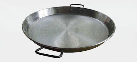 Muurikka Paellapannu, terästä 60 cm