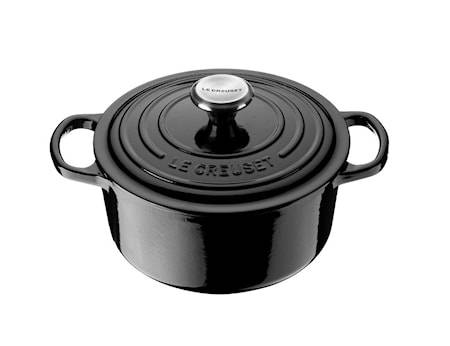 Le Creuset Pyöreä Pata 24cm 4,2L Black