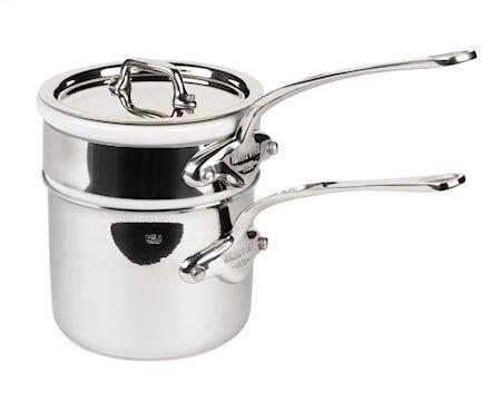 Mauviel Cook Style Bain-Marie 0,8 l kiiltävää terästä