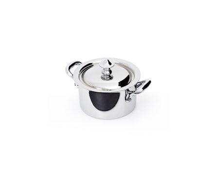 Mauviel Cook Style Pata kannellinen kiilotettua terästä 0,3 l