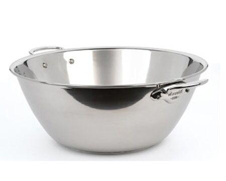 Mauviel Cook Style Hillopata kiillotettua terästä 5,5 l