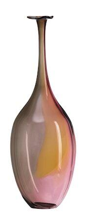 Kosta Boda Fidji punainen pullo 36,5 cm