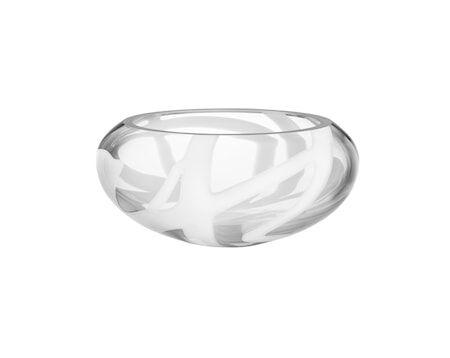 Kosta Boda Globe Valkoinen Vati