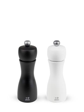 PEUGEOT Tahiti Duo matta valkoinen/musta 15 cm