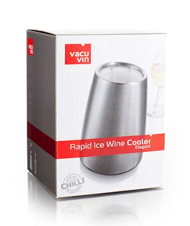 Vacuvin Active Wine Cooler Elegant ruostumatonta terästä