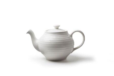 Design House Blond teekannu valkoinen/raita
