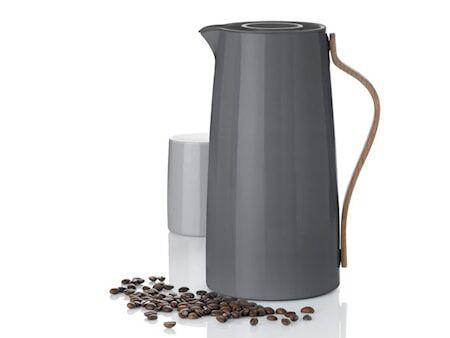 Stelton Emma Termoskannu, kahvi, 1,2 l - harmaa*