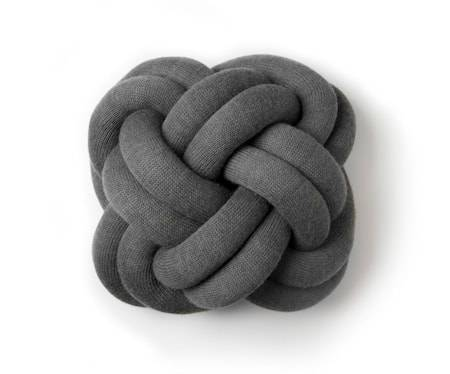 Design House Knot tyyny harmaa