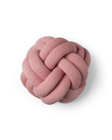 Design House Knot tyyny vaaleanpunainen