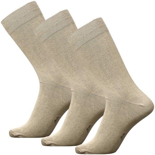 JBS 3 pakkaus Socks - Beige