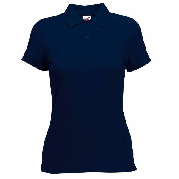 Fruit of the Loom Lady Fit 65/35 Polo - Darkblue