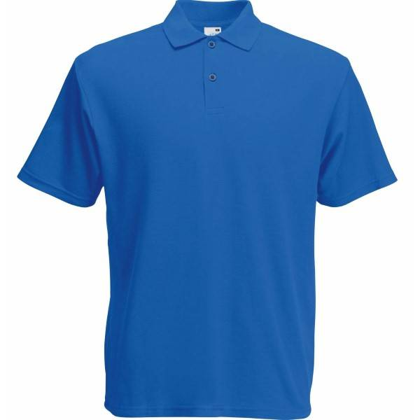Fruit of the Loom Screen Stars Original Polo - Royalblue