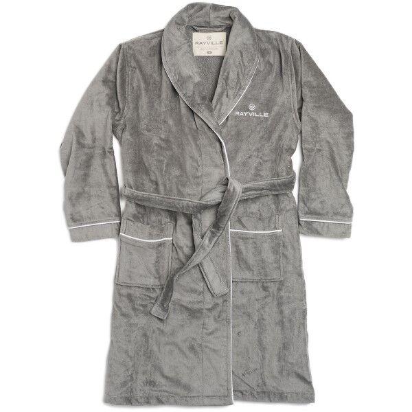 Rayville Paul Bathrobe Solid - Grey
