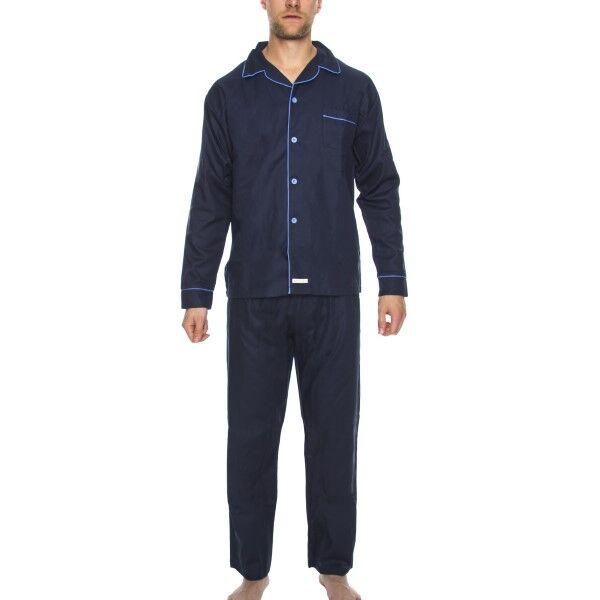 Rayville Mick Pyjamas Solid - Navy-2
