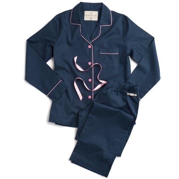 Rayville Debbie Pyjamas Solid - Blue